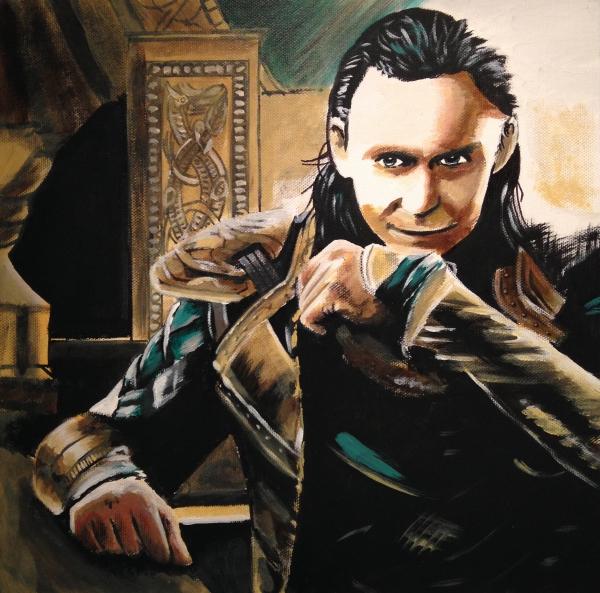 Tom Hiddleston par KLARTWORK